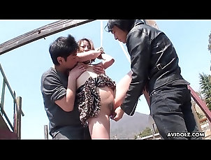 outdoor,brunette,closeup,threesome,high-heels,asian,bondage,japanese,japan,mmf,jav,uncensored,small-tits,sex-toys,hairy-pussy,asian_woman Japanese kinky...