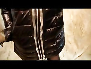 Asian;Stockings;Latex;Chinese;Spandex;Jacket;Down Jacket Shiny winter down...