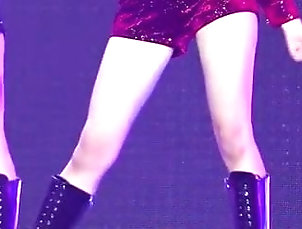 Asian;Babe;Celebrity;Close-up;JOI;Thighs;Sexy Thighs;Girl Group;Closeups;Kpop;Korean Singer Time To Jizz Over...