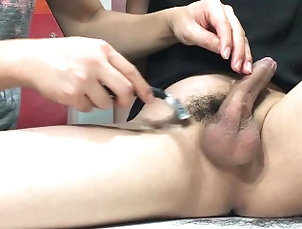 shaving;asian;boy;dick;cuteboy;twink;cao-long;cac;trim;hairydick;hairy;cock;show,Massage;Asian;Twink;Gay;Mature Shaving dick and...