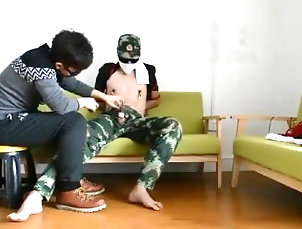 chinese;helping;hand;slave,Asian;Gay;Handjob Jerking Off A Chinese Slave
