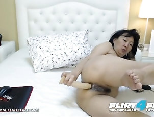 flirt4free;masturbate;adult;toys;ass;fuck;mom;mother;stepmother;asian;milf;asian;cougar;anal;ass;play;ass;to;pussy;dildo;fuck;orgasm;fingering;camgirl;milf,Masturbation;Toys;Mature;MILF;Small Tits;Webcam;Step Fantasy;Solo Female Sandra Mia on...