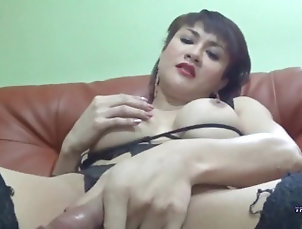 transworldasia;asian;tranny;big;ass;heels;lingerie;brunette;masturbation;stocking;high;heels;big;tits;fishnet;close;up;solo;shemale;ts,Amateur;Brunette;Masturbation;Shemale Krystal shows her...