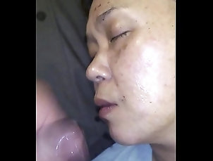 cumshot,wife,asian,japanese,cum-on-face,facial-cumshot,japanese-wife,asian-wife,asian_woman My Japanese wife...