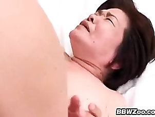 Couple Old Asian Woman Gets A Creampie