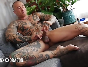 asian;daddy;uncut;muscle;tattoo;asian-pornstar;asian-daddy;edge;bate;masturbate;cumshot;goon,Daddy;Asian;Muscle;Solo Male;Gay;Uncut;Cumshot;Tattooed Men Asian Daddy: PART...